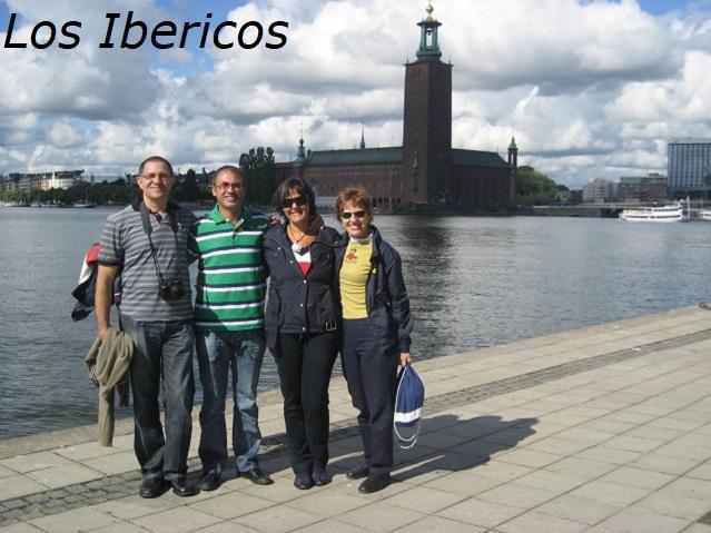 Grupo Los Ibericos y Ayuntamiento
