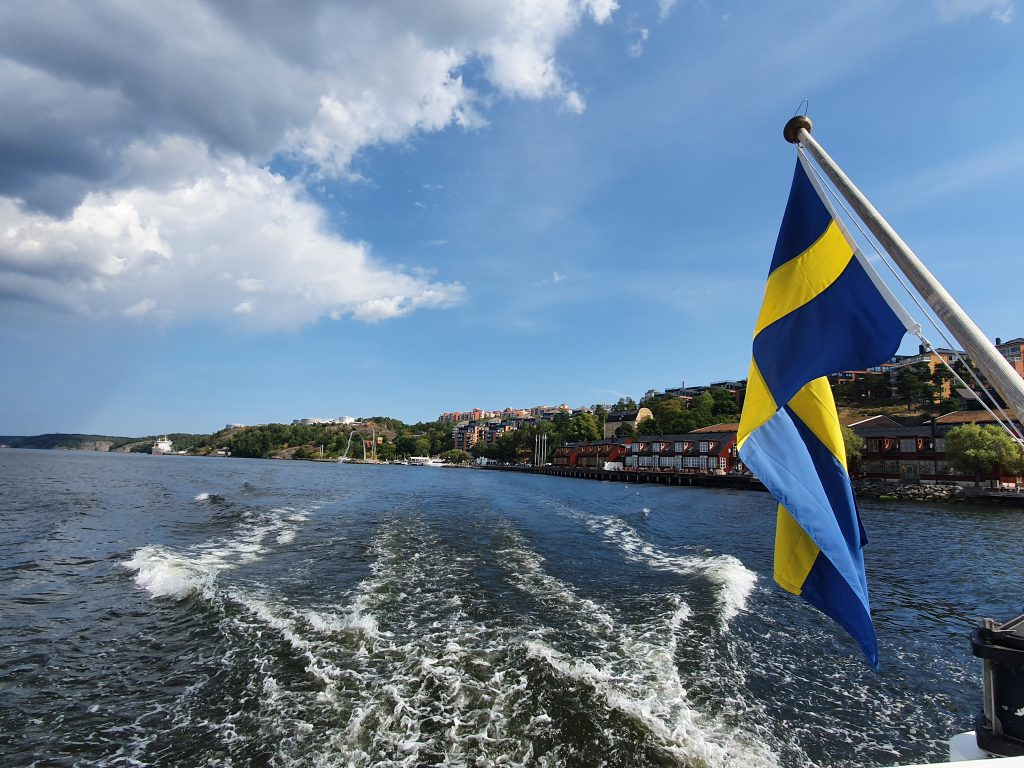 Boat sightseeing in Stockholm